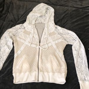 Miss me lace sweater